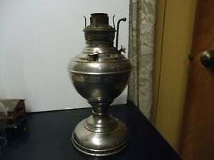 Antique The New Juno No. 2 Table Oil Lamp, circa 1895 Edward & Miller Company ?