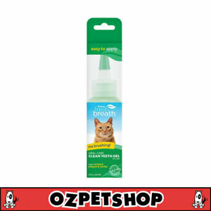 Tropiclean Clean Teeth Oral Care Gel for Cats - Removes Plaque & Tartar - 59ml