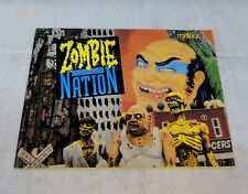 Zombie Nation NES Manual Only No Game No Box