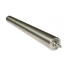 Intermediate Roller for shrink wrapping machines