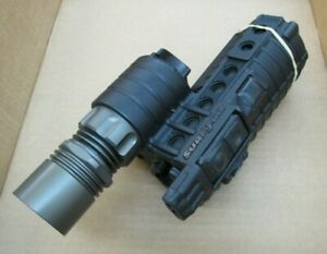 Lightly Used Surefire M500A Rifle Light w/ Navigation Lights and LED Upgrade