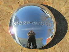 """1940 Ford Deluxe Set of 4 Stainless Hubcaps - Brand New 8 1/8"""" LIP DIAMETER"""