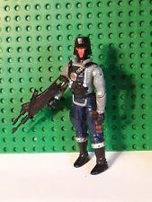 Vintage 1991 GI Joe Interrogator Cobra Battle Copter Pilot v1 ARAH Hasbro Figure