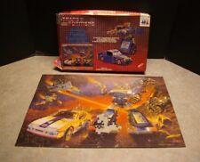 RARE 1984 TRANSFORMERS G1 WARREN HASBRO BLUESTREAK 3D CARDBOARD PUZZLE 12-1030