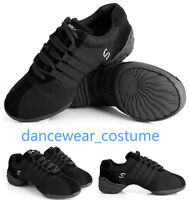 Ladies Modern Jazz Hip Hop Dance Sneakers Gymnastics Running Sport Dance Shoes 1