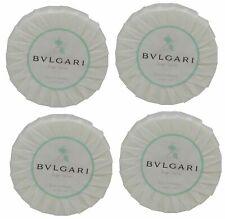 Bvlgari au the vert Green Tea Soap lot of 4 each 1.76oz Bars. Total of 7oz