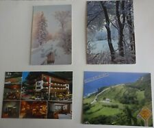4 postcards of the USSR, Austria, Australia