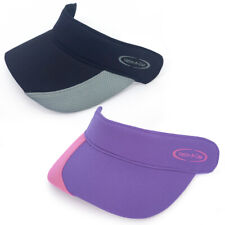 Set of 2 Detachable Helm-A-Cap Visors, Black/Gray + Violet/Pink