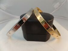 Authentic Swarovski ,pair of Bangles with crystals