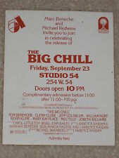 "STUDIO 54 - THE ""BIG CHILL"" MOVIE RELEASE PARTY"