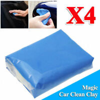 4PCS Magic Blue Clay bar voiture détaillant argile boues + 1P boîte gratuite
