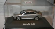 Audi A8 in lichtsilbermetallic – Sondermodell Audi in PC