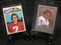 Joe Theismann Washington Redskins 1977 Topps 2002 Donruss Gridiron Kings Silver