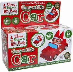 Elves Behaving Badly Convertible Car - Push Along Free Wheel Action