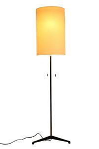 Elegante Staff Boden Lampe 160cm Steh Leuchte Vintage Floor Lamp 60er 70er Jahre