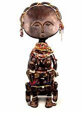 Art Africain Tribal - Statue de Fertilité Ashanti - Pièce d'Autel - 53,5 Cms +++