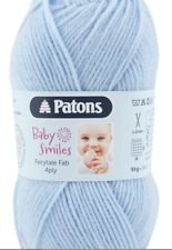 Patons Baby Smiles Fairytale Fab 4 ply yarn 2 x 50g balls - colour 1054 blue
