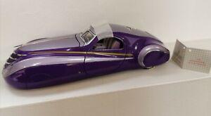 Franklin Mint 1939 Duesenberg Coupe Simone Die-cast model 1:24 Scale model car