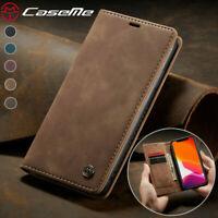 Funda billetera de cuero para Apple iPhone 12/12 Mini/12 Pro/12 Pro Max carcasa