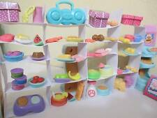 Littlest Pet Shop Lot Grocery Store Food Accessories 20 RANDOM 100% AuthenticLPS