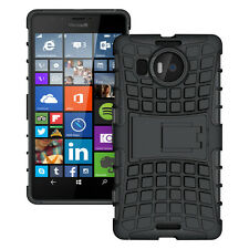 IDefend Microsoft Lumia 950XL negro resistente a prueba de choques a Funda Protectora