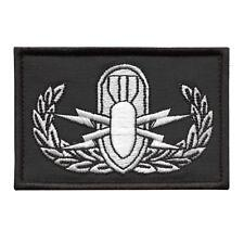 explosive ordnance disposal EOD bomb squad morale embroidery sew iron on patch