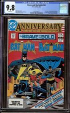 Brave and the Bold # 200 CGC 9.8 White (DC, 1983) 1st appearance Katana