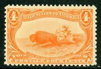USA 1898 Trans Mississippi 4¢ Scott #287 MNH J100 ⭐⭐⭐⭐⭐⭐
