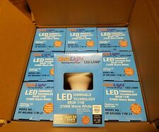 Pack of (18) LED Dimmable Bulbs BR30 11W LED Light 2700K Warm White Optolight