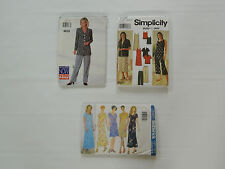 Sewing Pattern Lot See & Sew 4810 Simplicity 7158 Butterick 5467 - 6 8 10 12 14