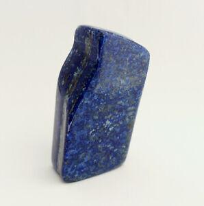 Wunderschöne Lapis Lazuli Stein Dekostein Heilstein Polierte Blau ca. 314 Gramm