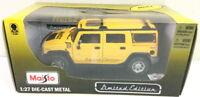 Maisto Yellow Hertz H2 Hummer Die-Cast 1:27 Scale Metal Limited Edition 2008 NIB