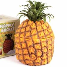 PINEAPPLE Ice Bucket Champagne Wine Bottle Cooler Drinking Retro Bar Centrepiece