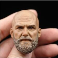 "*NEW 1/6 Scale Bearded Head Sculpt Headplay A-20 For 12"" Action Figure"