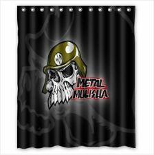Metal Mulisha Custom Bathroom Shower Curtain 60x72 Inches