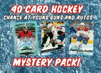 40 Card Hockey Mystery Pack (Guaranteed Modern Rookies)
