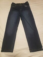 Boys Size 6 New Without Tags DarkBlue 365 Kids by Garanimals Pull On Denim Jeans
