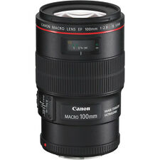 Canon EF 100mm f/2.8L Macro IS USM Lens #3554B002 BRAND NEW!