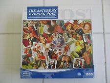 The Saturday Evening Post Romance Jigsaw Puzzle 1000 Pieces Norman Rockwell Art