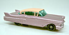 Matchbox RW 27C Cadillac 60 Special lilamet./pink rare schwarze Räder perfekt