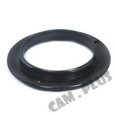 58mm Macro Reverse Adapter Ring For Sony NEX A5100 A6000 A3000 5T 3N 6 7 F3 5N