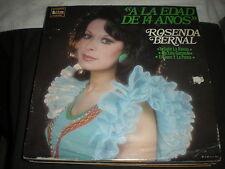 Rosenda Bernal-A La Edad De 14 onos-LP-Discos Int. Records/Rosenda Bernal/Latin
