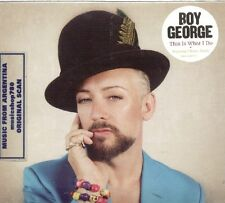 BOY GEORGE THIS IS WHAT I DO + 3 BONUS TRACKS SEALED CD NEW 2014