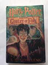 HARRY POTTER AND THE GOBLET OF FIRE By J. K. ROWLING 2000 1st American Edition