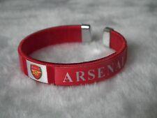 kiTki 65mm Arsenal football soccer bangle wristband wristlet bracelet torque