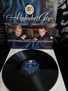 "ABC – Alphabet City Vinyl 12"" LP Album + Inner NTRH 4 1987"