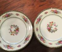 "Pair of Antique Porcelain Union K Pun 9"" Dinner Plate"
