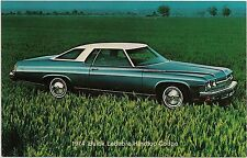 1974 Buick LeSabre Hardtop Coupe Automobile Advertising Postcard