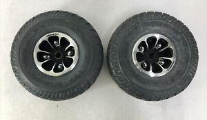 PAIR Drive Wheels Tires Jazzy/Quantum 610 1103 1107 1113 PR1MO DUROTRAP 3.00-4