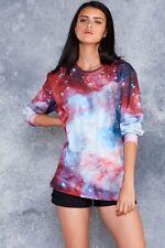 Black Milk Clothing - Galaxy Jewel Long Sleeve BFT Top - S